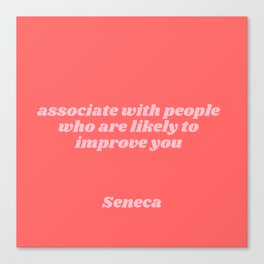 seneca quote Canvas Print