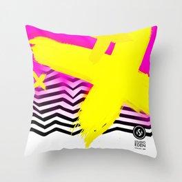 VIBES-EDA-002 Throw Pillow