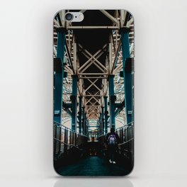 Coney Island Pier Subway Station 2 iPhone Skin