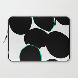eggs, b&w abstract with a bit of color Laptop Sleeve