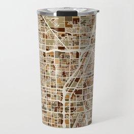 Las Vegas City Street Map Travel Mug