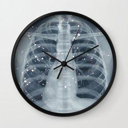 Situs Inversus Wall Clock