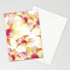 Sunflowers Watercolor Stationery Cards