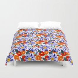 Alia #floral #illustration #botanical Duvet Cover