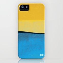 Let it Go. Go surf. iPhone Case