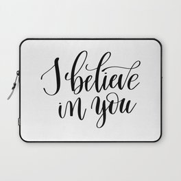 I belive in you Laptop Sleeve