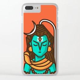 Shiva Clear iPhone Case