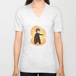 The most magnetic of the X-men: Little Magneto Unisex V-Neck
