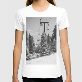 Chairlift to the Top T-shirt