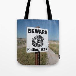 beware Tote Bag