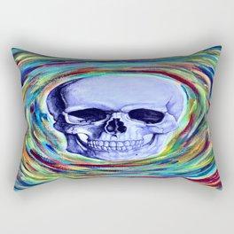 A Skull's Vortex Rectangular Pillow