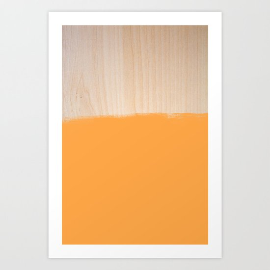 Sorbet III Art Print