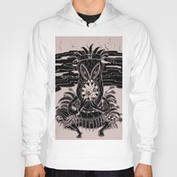 tiki Hoodies featuring Tiki lunch by CHAUCHE