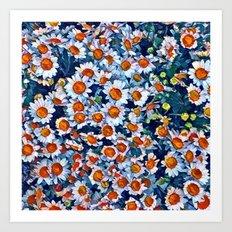 chrydsanthemum Art Print