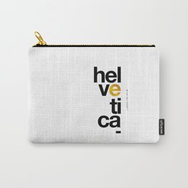 Helvetica Typoster #1 Carry-All Pouch