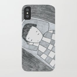 asleep iPhone Case