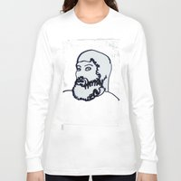 chad wys Long Sleeve T-shirts featuring chad white by Chad M. White