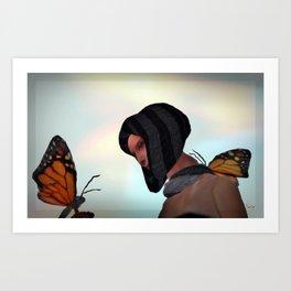 """Loving Wings"" Art Print"