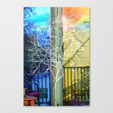 Outside View Canvas Print