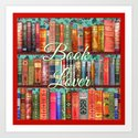 Vintage Books / Christmas bookshelf & holly wallpaper / holidays, holly, bookworm,  bibliophile by magentarose