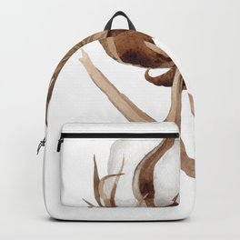 Cotton Flower 03 Backpack