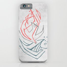 Christian Holy Spirit symbol religious illustration iPhone Case
