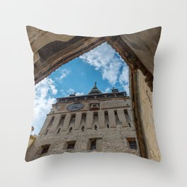 Sighisoara Throw Pillow