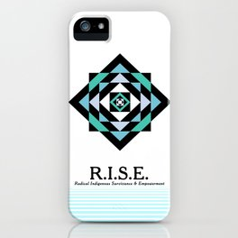 R.I.S.E. DESIGNS iPhone Case