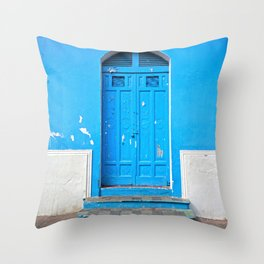 Superazul Throw Pillow