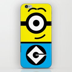 Minion Yellow iPhone & iPod Skin