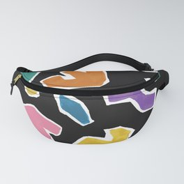 Scattered Shapes Fanny Pack