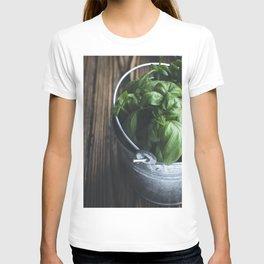 Basil in a bucket T-shirt
