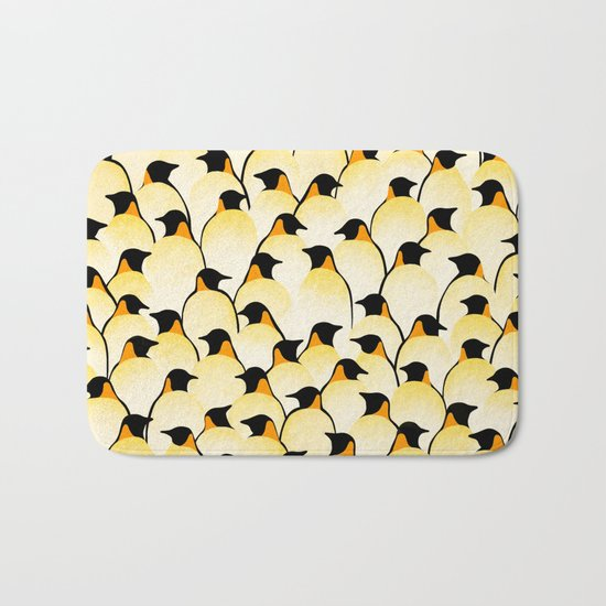 Penguins I Bath Mat