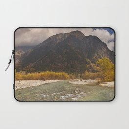 Azusa River and Autumn colours in Kamikochi, Japan Laptop Sleeve