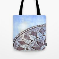 zentangle Tote Bags featuring Zentangle by Nathanee.