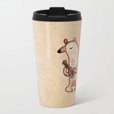 Ukulele Bear Travel Mug