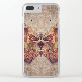 Butterfly I Clear iPhone Case