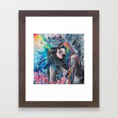 Colorful Me Framed Art Print