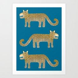 Jaguar Evenings Art Print