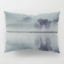 Misty Mirror - Landscape Reflections Pillow Sham