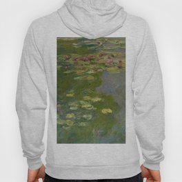 "Claude Monet ""Water Lilies"" (15a) Hoody"