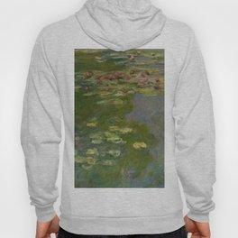 "Claude Monet ""Water Lilies"" (15a) Hoody"