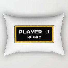 Player 1 ready Rectangular Pillow
