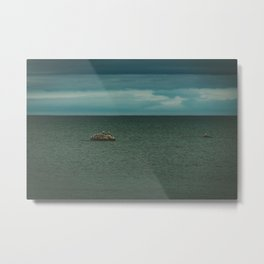 White Rock Metal Print