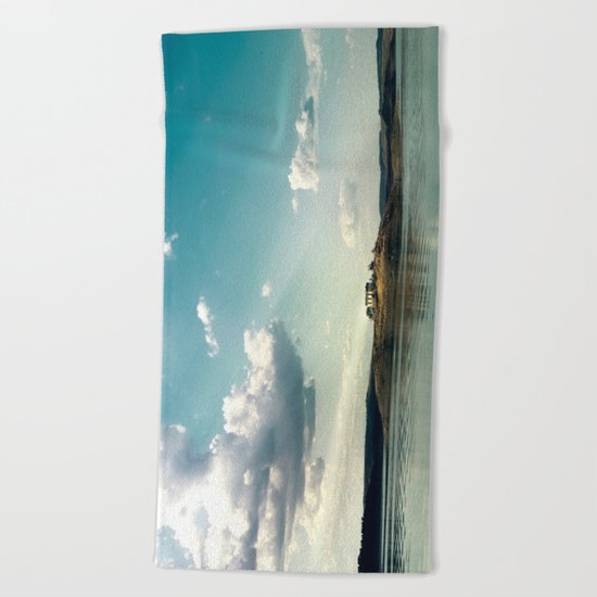 The loner Beach Towel
