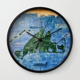 Vintage Vineyard Wall Clock