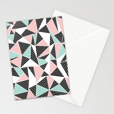 AbLines with Blush Mint Blocks Stationery Cards