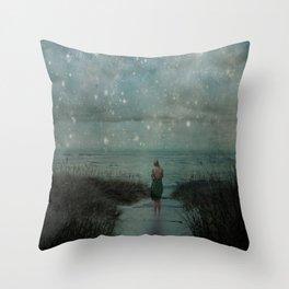 Stars in the Night Sky Throw Pillow
