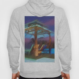 Tropical Nightscape Hoody