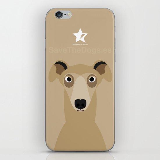 Greyhound (Galgo Ingles) iPhone & iPod Skin